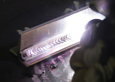 Weld created using the Mig process