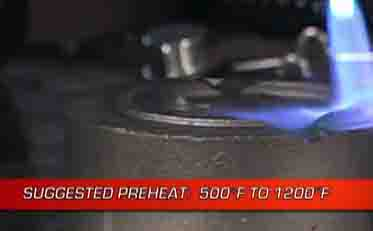 Cast Iron Welding Repair Preheating Is Recommended