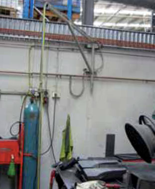 Secured Cylinders and a Well Organized Workshop Improve Metal Fabrication Safety
