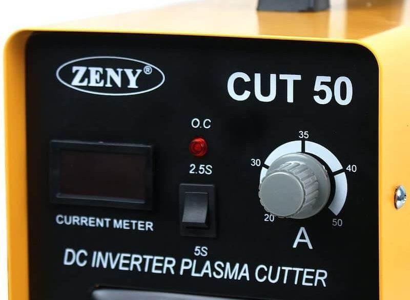 CUT-50 Digital DC Inverter Plasma Cutter Weldering Welder 50AMP With Face Mask