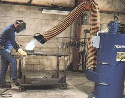 Local Exhaust Ventilation - Portable Welding Fume Eliminator