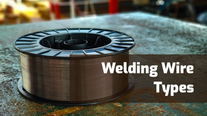 MIG & Flux Core Welding Wire Types & Specification (with Chart)