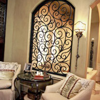 Wrought Iron Home Decor