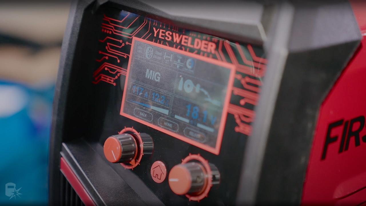 yeswelder mp200 lcd screen