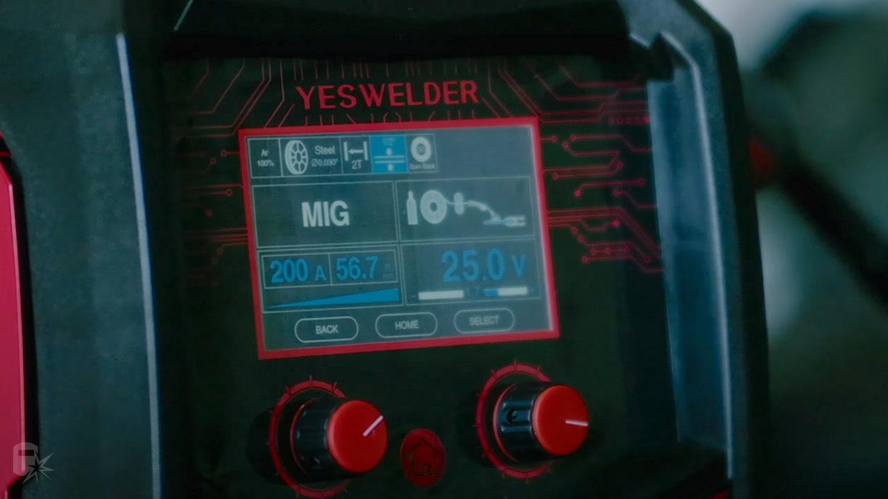 yeswelder mp200 settings lcd screen